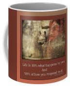 Life Is Moments Of Camouflage Coffee Mug
