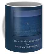 Life Is Soaring Solo Sometimes Coffee Mug