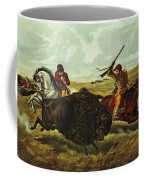 Life On The Prairie Coffee Mug by Currier and Ives