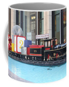 Life Size Toy Train Set In Nyc Coffee Mug
