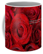 Life Without Love Will Have No Roses Coffee Mug