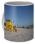 Lifeguard On Siesta Key Coffee Mug