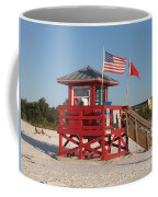 Lifeguard Siesta Beach Coffee Mug