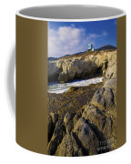 Lifeguard Tower On The Edge Of A Cliff Coffee Mug