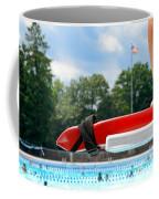 Lifeguard Watches Swimmers Coffee Mug