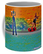 Lift Off On The Delta Coffee Mug