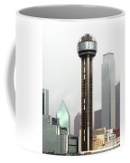 Lifting Fog On Dallas Texas Coffee Mug