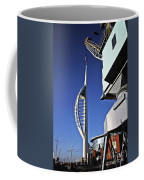 Lifting Portsmouth's Spinnaker Tower Coffee Mug