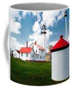 Light At Whitefish Point Coffee Mug