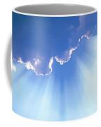 Light Beams From Cloud Coffee Mug by David N Davis