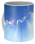 Light Beams From Cloud Coffee Mug