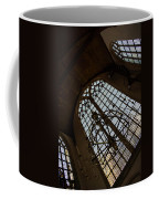 Light - Arched Windows And Golden Chandeliers Coffee Mug