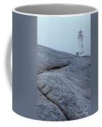 Light House At Peggys Cove Nova Scotia Coffee Mug