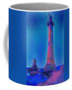 Light House At Sunset 1 Coffee Mug
