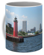 Light House Milwaukee Skyline 1 Coffee Mug
