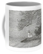 Light House On San Juan Island Lime Point Lighthouse Coffee Mug
