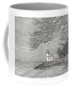 Light House On San Juan Island Lime Point Lighthouse Coffee Mug