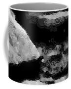 Light In The Stream Bw Coffee Mug