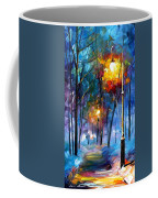 Light Of Luck - Palette Knife Oil Painting On Canvas By Leonid Afremov Coffee Mug