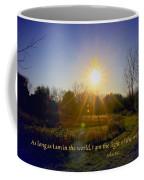 Light Of The World Coffee Mug