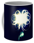 Light Painting Flower Coffee Mug