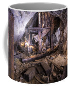 Light Painting In A Gold Mine 2 Coffee Mug