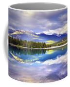 Light Play At Lake Annette Coffee Mug