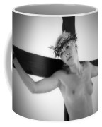 Light Portrait Of A Female Christ Coffee Mug