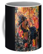 Light Through Fall Vineyard Coffee Mug