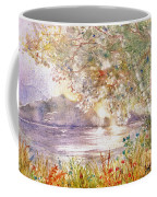 Light Through The Pass Coffee Mug by Marilyn Smith