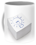 Lightbulb Drawing Coffee Mug