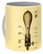 Lightbulb Patent Coffee Mug by Digital Reproductions