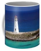 Lighthouse Along Coast Of Paradise Island Bahamas Coffee Mug