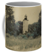 Erie Lighthouse Among The Trees Coffee Mug