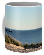 Lighthouse And Pierhead Coffee Mug