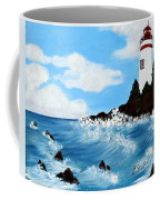 Lighthouse And Sunkers Coffee Mug