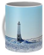 Lighthouse And Winter Coffee Mug