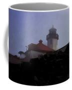 Lighthouse At Alki Beach 2 Coffee Mug