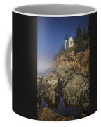 Lighthouse At Bass Harbor Maine Coffee Mug
