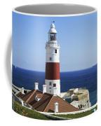 Lighthouse At Europa Point Gibraltar Coffee Mug