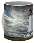 Lighthouse At North Cape On Prince Edward Island Coffee Mug