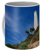 Lighthouse At Saint-jean-cap-ferrat France French Riviera Coffee Mug