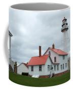 Lighthouse At Whitefish Coffee Mug