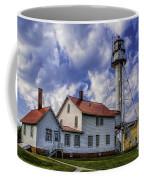 Lighthouse At Whitefish Point Coffee Mug
