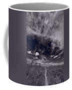 Lighthouse Beach Dunes Bw Coffee Mug by Steve Gadomski