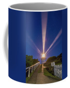 Lighthouse Beams By The Southern Cross Coffee Mug