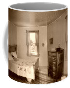 Lighthouse Bedroom In Sepia Coffee Mug
