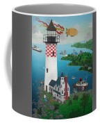 Lighthouse Fishing Coffee Mug