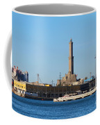 Lighthouse In Genova. Italy Coffee Mug