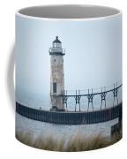 Lighthouse In Haze Coffee Mug
